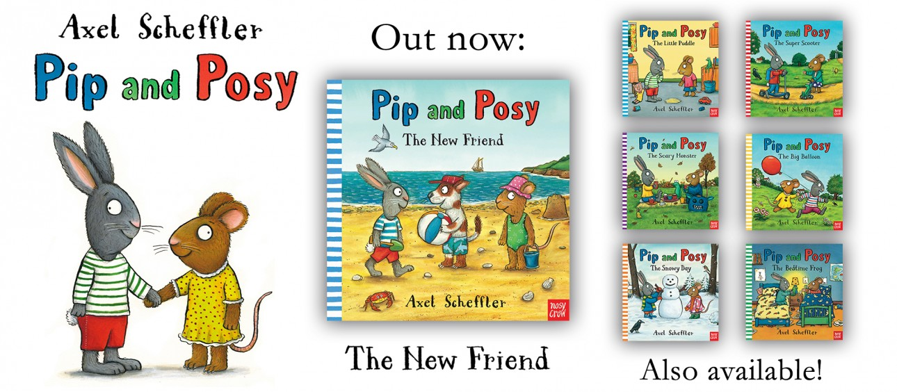 Pip and Posy Banner