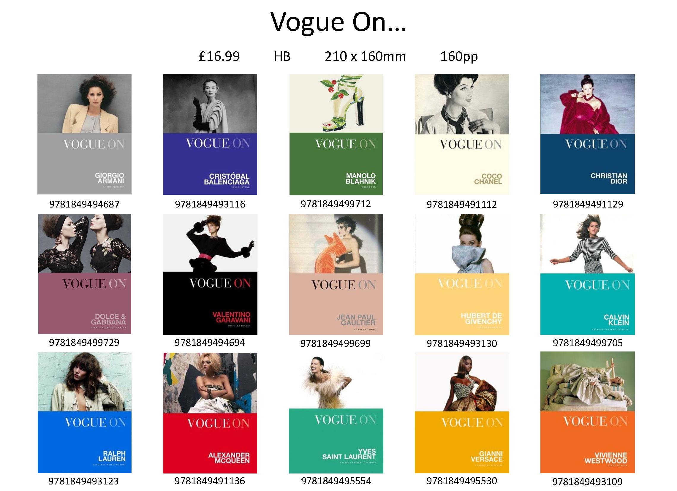Vogue On...